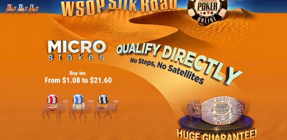 WSOP Silk Road: Mulai jalan Anda ke gelang dengan micro buy-in!